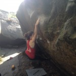 Bouldering, Climbing